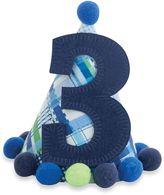 """Mud Pie I'm Three"""" Party Hat in Blue"""