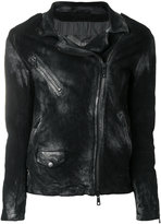 Giorgio Brato distressed zip jacket