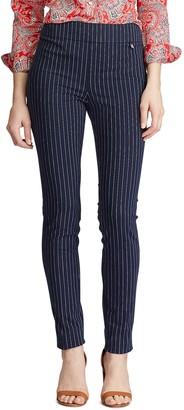 Chaps Women's Pinstripe Skinny Pants