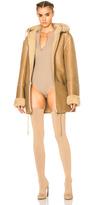 YEEZY Season 3 Hooded Lamb Shearling Jacket