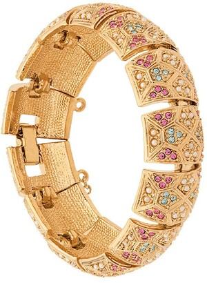 Susan Caplan Vintage 1980s D'Orlan Pastel bracelet
