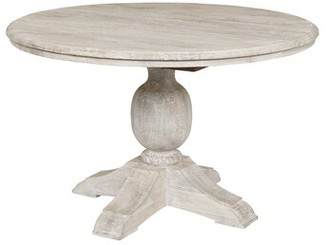 """Birch LaneTM Fredericks Mango Wood Pedestal Dining Table Birch Lane Size: 30"""" H x 60"""" L x 60"""" W"""