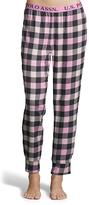 U.S. Polo Assn. Pink & Black Buffalo Plaid Pajama Pants