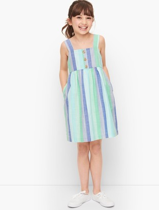 Talbots Girls Beachcomber Stripe Dress
