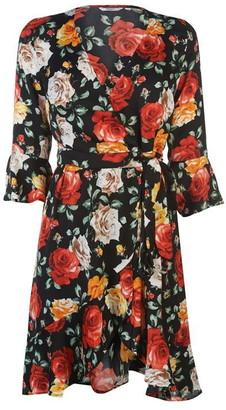 GUESS Floral Dress Womens