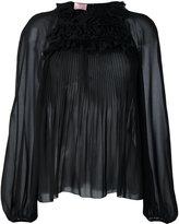 Giamba pleated blouse