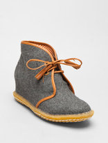 Eliotte Wool Hidden Wedge Tassel Desert Boot