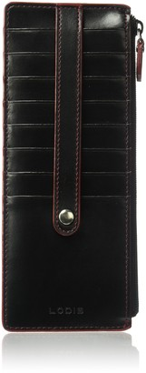 Lodis Audrey RFID Credit Card Case with Zip Pocket Credit Card Holder