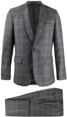 Paul Smith regular fit checked suit