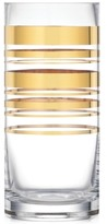 Kate Spade Hampton Street Gold Striped Vase