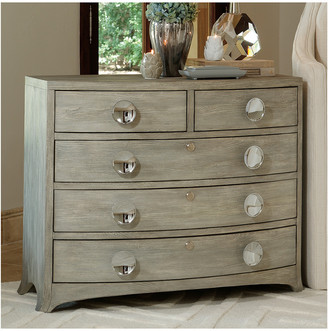Global Views Bow Front 5-Drawer Dresser