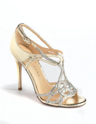 Ivanka Trump Herly Leather Embellished Heels