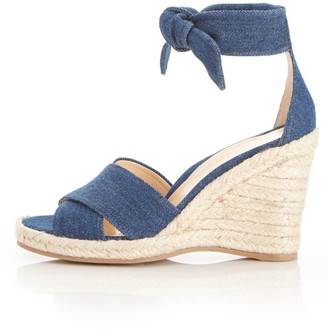 Marion Parke Leah Wedge in Denim