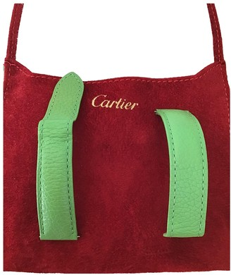 Cartier Tank Solo Green Leather Watches