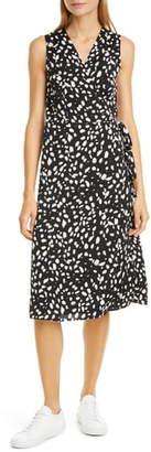 Nordstrom Signature Silk Blend Wrap Dress