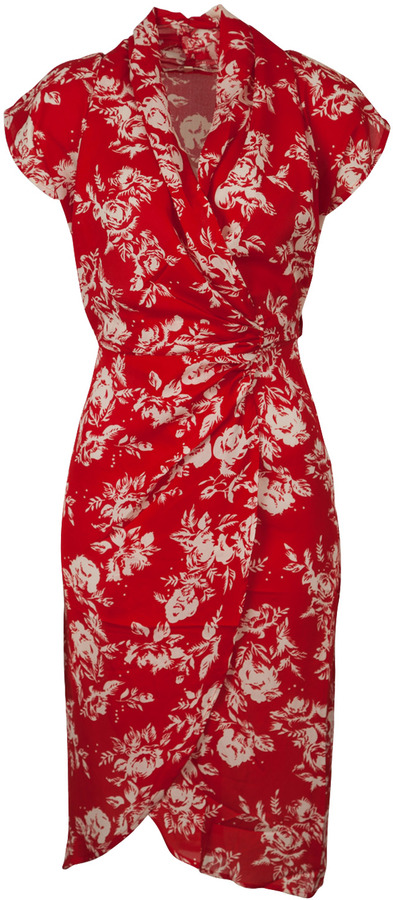 Uttam Boutique Deanna Drapey Wrap Dress
