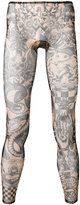 DSQUARED2 printed leggings - men - Polyamide/Spandex/Elastane - S