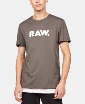G Star Men's Holorn Raw Logo T-Shirt