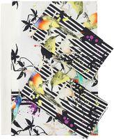 Roberto Cavalli Bird Ramage Cotton Duvet Cover Set