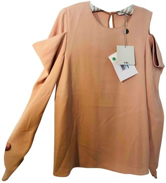 Tibi Pink Synthetic Tops