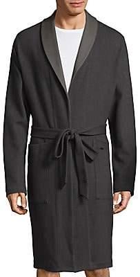 Hanro Men's Paul Twill Robe