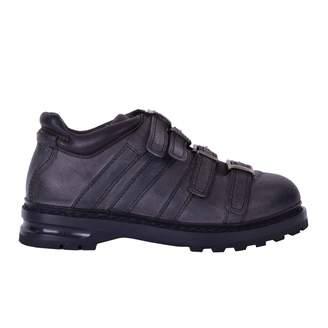 Dolce & Gabbana Grey Leather Boots