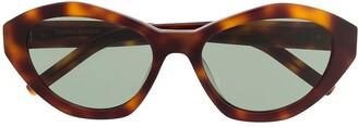 Saint Laurent Eyewear SL M60 cat-eye frame tortoiseshell sunglasses
