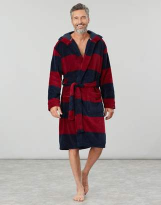 Joules Cosy Time Fluffy Dressing Gown
