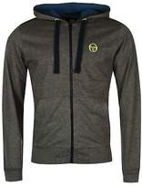 Sergio Tacchini Mens Elbow Hoodie Hoody Hooded Top Full Zip Long Sleeve