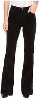 J Brand Maria Flare in Black Women's Jeans