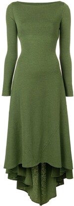 DSQUARED2 asymmetric knitted dress