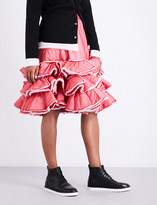 Comme des Garcons Tiered padded skirt