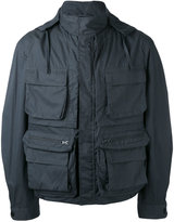 Lemaire cargo jacket - men - Cotton/Polyurethane - 46