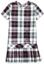 Brooks Brothers Short-Sleeve Plaid Dress