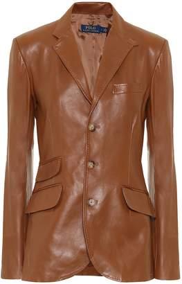 Polo Ralph Lauren Leather blazer