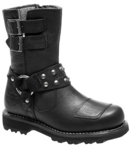Harley-Davidson Women's Marmora Motorcycle Lug Sole Boot Women's Shoes