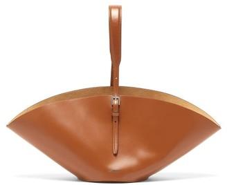 Jil Sander Sombrero Small Leather Tote Bag - Tan