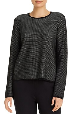 Eileen Fisher Textured Crewneck Sweater
