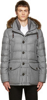 Moncler Grey Down Rethel Jacket