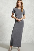 Forever 21 Burnout T-Shirt Maxi Dress