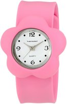 Vernier Women's VNR100000 Flower Shaped Slap Watch