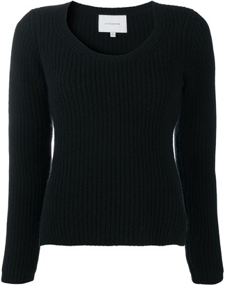 LA COLLECTION Ribbed Knit Jumper