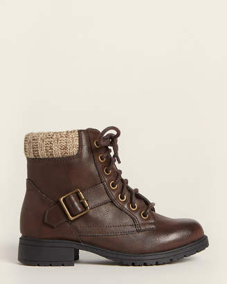 Mia Toddler/Kids Girls) Brown Debby Ankle Boots