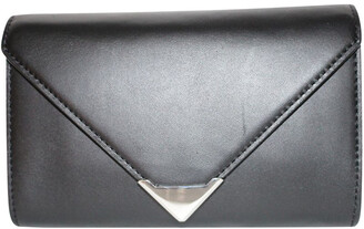 Alexander Wang Black Leather Fanny Pack Clutch