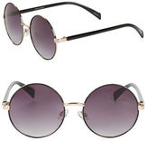 Steve Madden 50mm Round Sunglasses