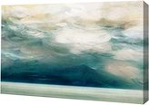 Canvas Art USA Ocean Breeze by PI Studio - Gallery Wrapped Giclee Canvas Art Print - Ready to Hang