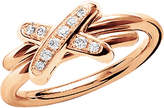Chaumet Premiers Liens de 18ct rose-gold and diamond ring