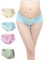 Slimart Uniwit® 4 PCS Cotton Maternity Pregnant Mother Panties Lingerie Briefs Underpants