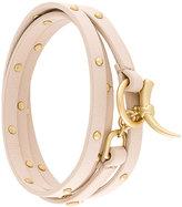 Tory Burch studded multi wrap bracelet