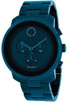 Movado Bold 3600279 Men's Blue Ion-Plated Stainless Steel Chronograph Watch